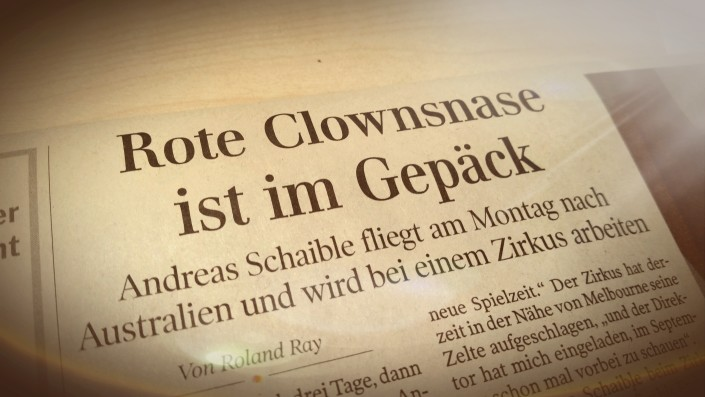 Schwäbische Zeitung berichtet über Andreas Schaible