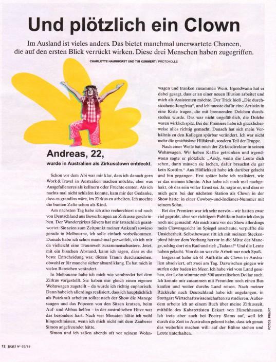 Die Süddeutsche Zeitung berichtet