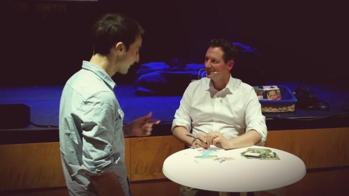 Andreas Schaible Humor hilft heilen Hirschhausen